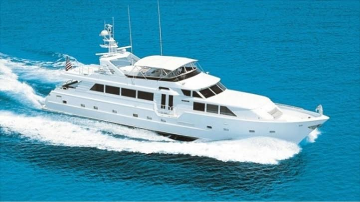 Luxury Charter Yacht Insatiable